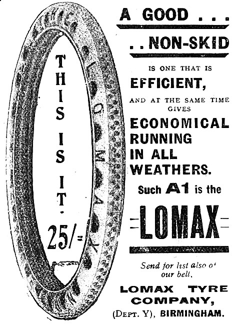 Lomax Motor Cycle Tyres