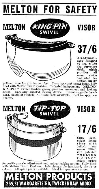 Melton Kin Pin Swivel Helmet Visors
