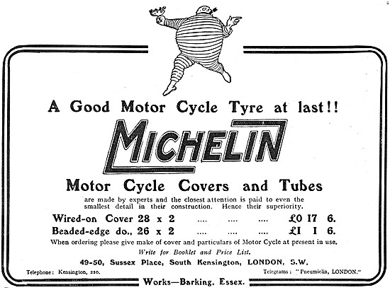 Michelin Motor Cycle Tyres