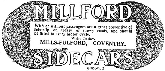 1911 Millford Sidecars