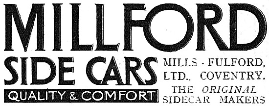Millford Sidecars