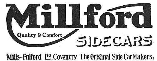 Millford Sidecars 1919