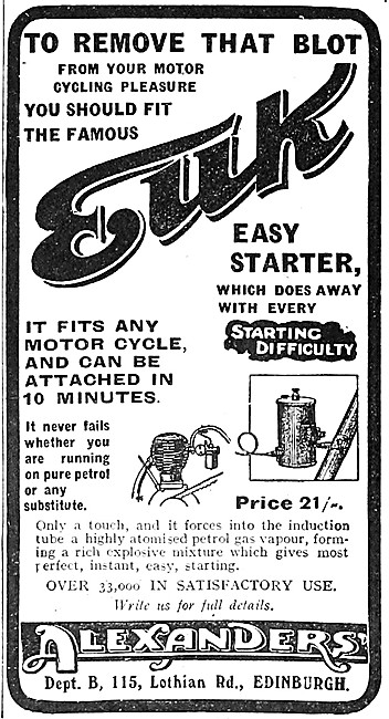 Alexanders EUK Easy Starter Attachment 1917