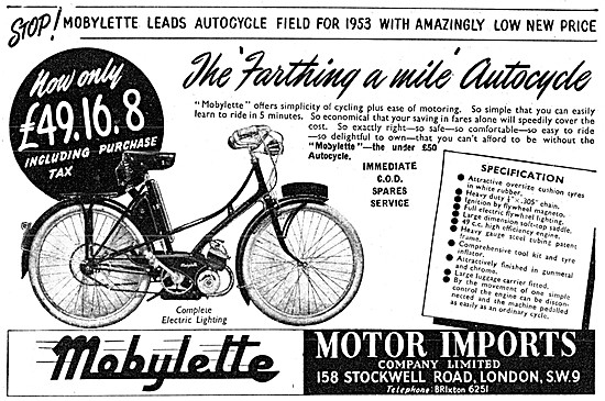 Mobylette Autocycle