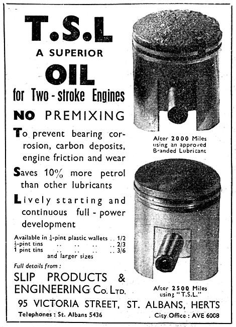 Slip TSL Two-Stroke Oil