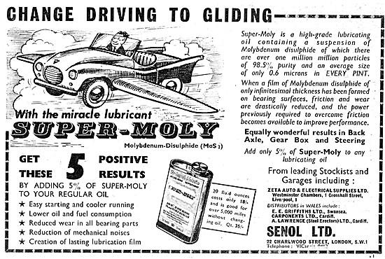 Molyslip Oil Additive - Super-Moly