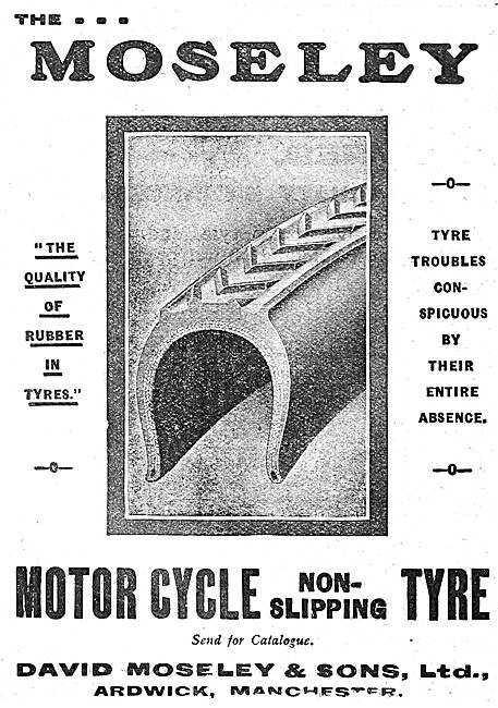 Moseley Float-On-Air Cushions - Moseley Motor Cycle Tyres