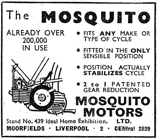Mosquito Clip On Cycle Motor 38 cc