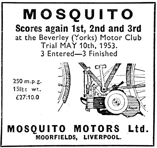 Mosquito Cycle Motor 38 cc