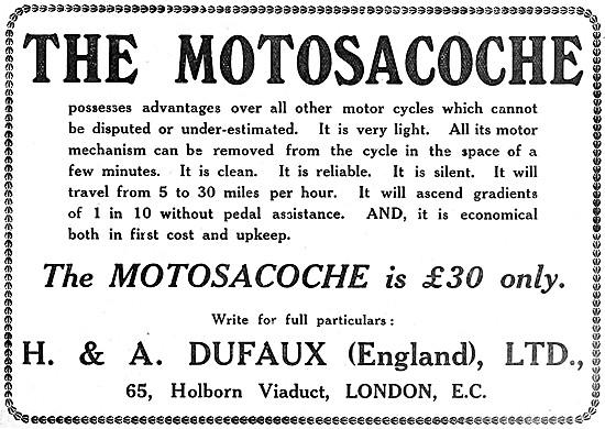 Motosacoche Motor Cycles
