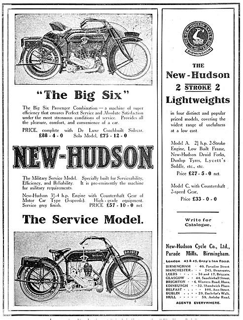 1914 New Hudson Big Six Combination