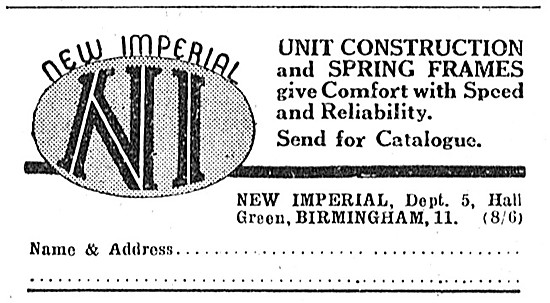 New Imperial Motor Cycles