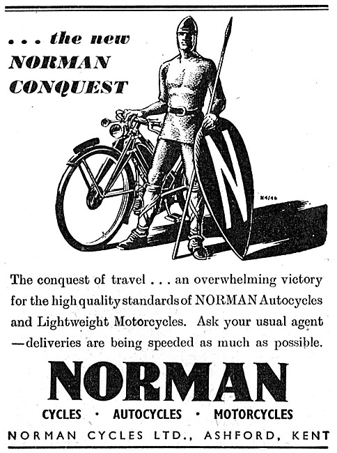 Norman Lightweight Motor Cycles - Norman Autocycles
