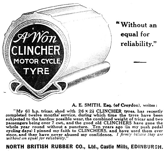 North British Clincher Motorcycle Tyres