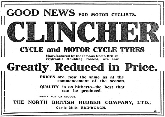 North British Rubber Tyres - Clincher Tyres
