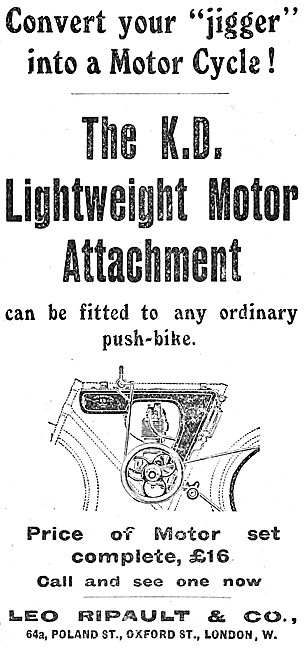 K.D.Cyclemotor - KD Lightweight Motor Attachment