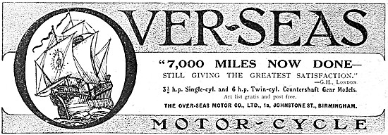 Over-Seas Motor Cycles
