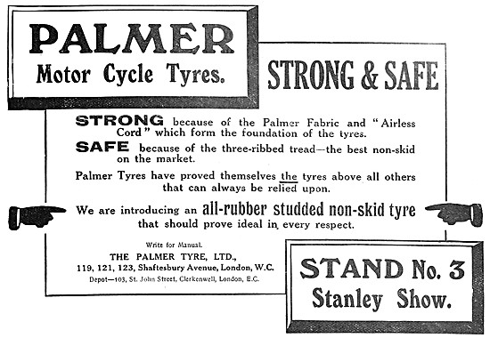 Palmer Motorcycle Tyres - Palmer Cord Tyres