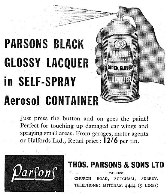 Parsons Paints & Finishes - Parsons Touch-Up Paints
