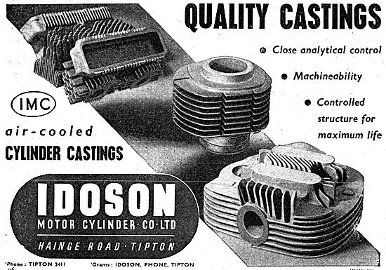 Idoson Motorcycle Engine Cylinder Castings
