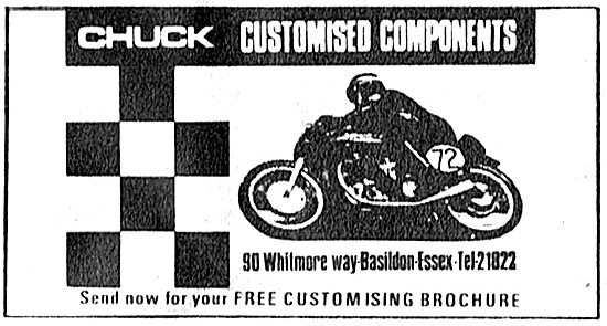 Chuck Customised Motorcycle Components