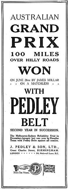 Pedley Motor Cycle Drive Belts - Pedley Motor Cycle Tyres