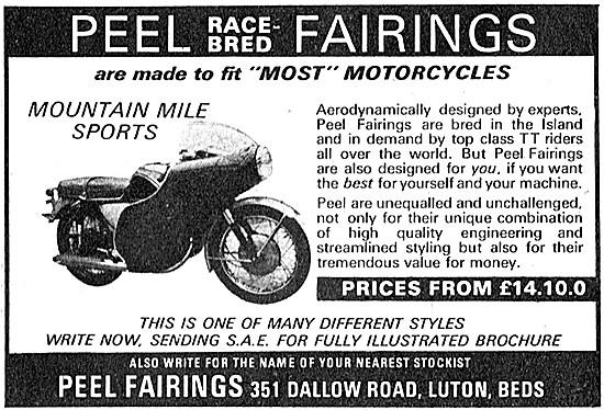Peel Motor Cycle Fairings