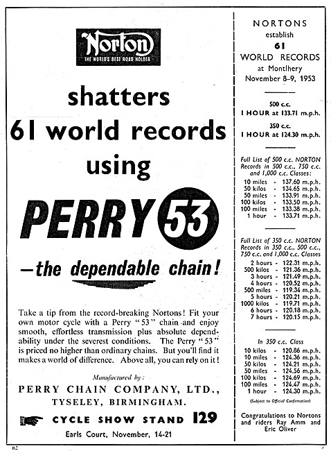 Perry 53 Motor Cycle Chain