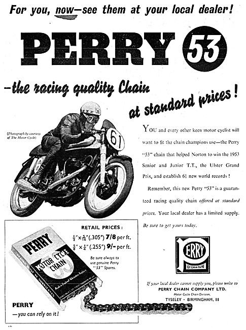 Perry Motor Cycle Chains