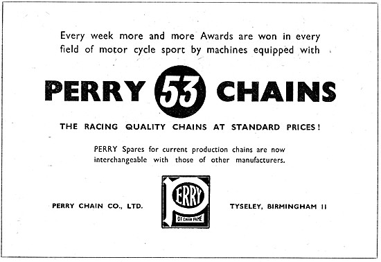Perry Motor Cycle Chains - Perry 53 Chain