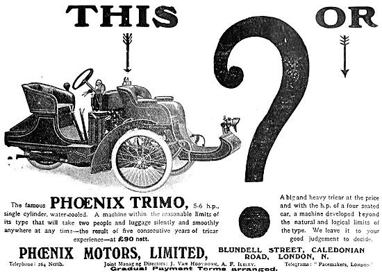 1907 Phoenix Trimo Tricar