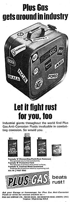 Plus Gas Anti-Corrosion Fluids