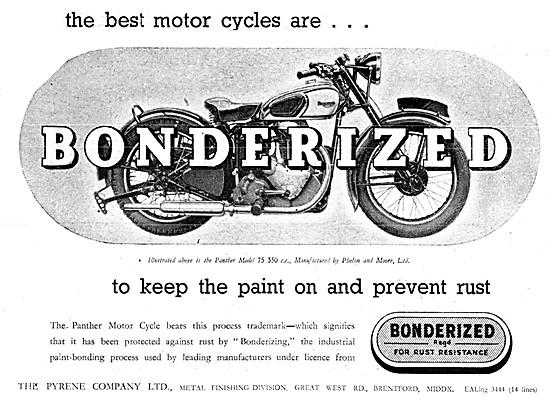 Pyrene Bonderized - Bonderizing Industrial Bonding Process