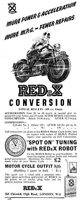 REDeX Petrol Additive - REDexX Tuning Robot