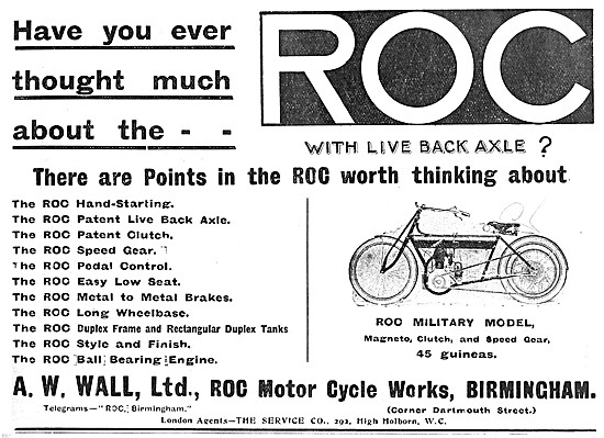 ROC Motorcycles, Engines & Gearboxes