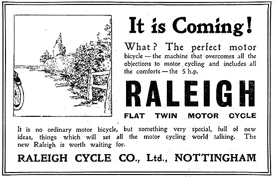 Raleigh Motor Cycles