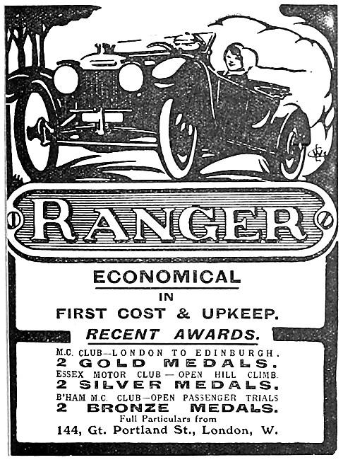 1914 Ranger Light Car