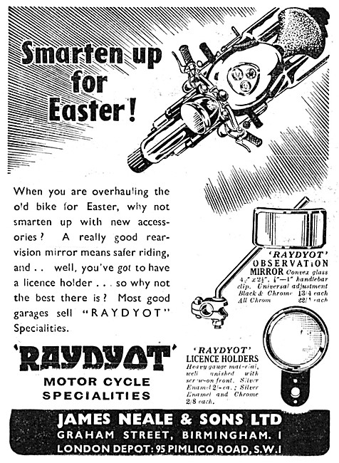 Raydyot Motor Cycle Accessories