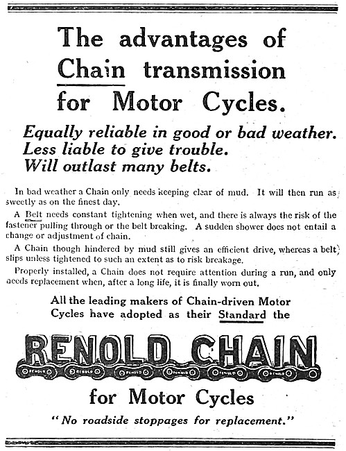 Renold Motor Cycle Chains