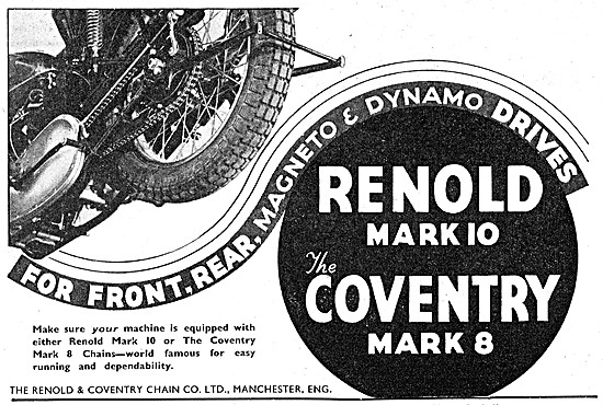 Renold & Coventry Motor Cycle Chains