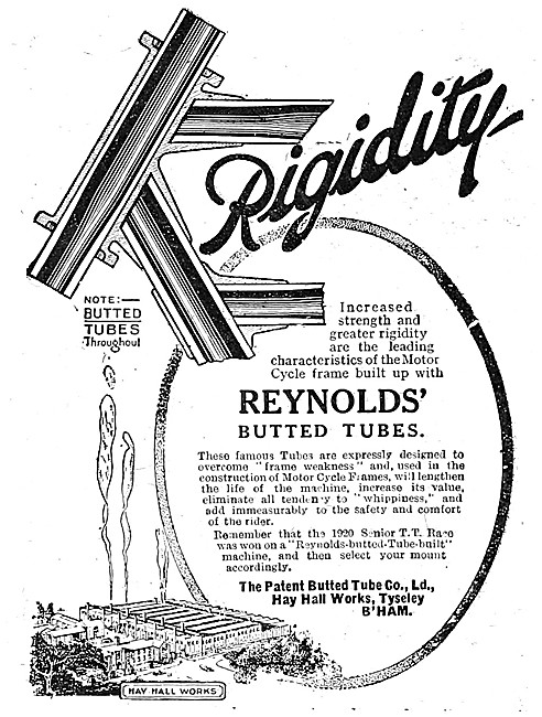 Reynolds Butted Tubes