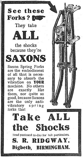Ridgway Saxon Spring Forks