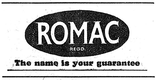 Romac Motor Cycle Accessories