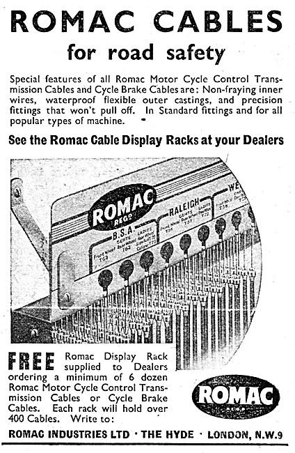 Romac Control Cables