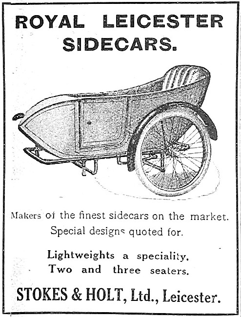 1914 Royal Leicester Sidecars