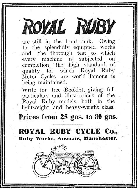 Royal Ruby Motor Cycles