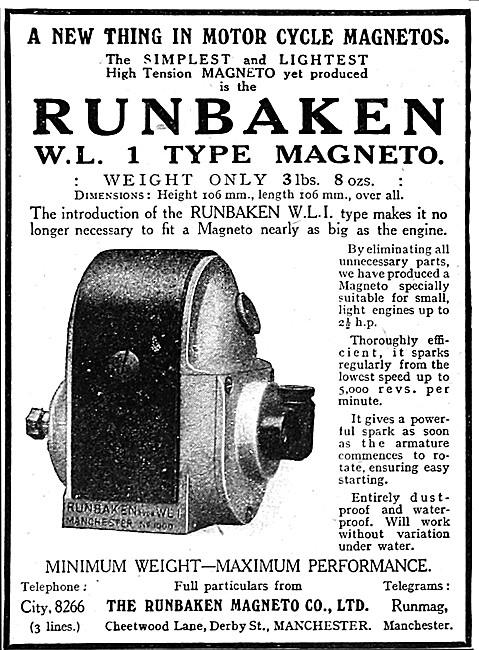 Runbaken W.L. 1 Type Magneto