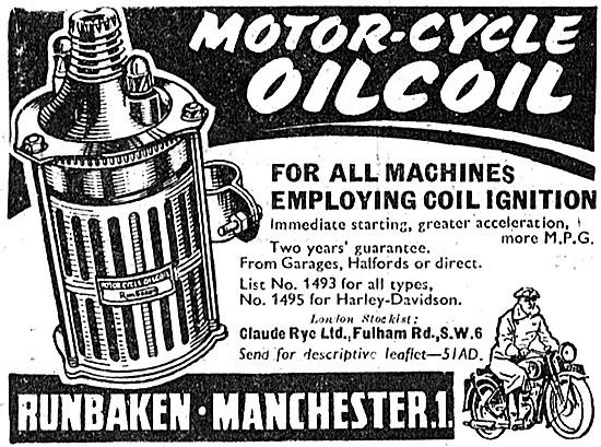 Runbaken Motor Cycle Ignition Coils - Runbaken Oilcoil