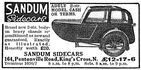 Sandum Double Adult Sidecars