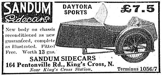 Sandum Daytona Sports Sidecar